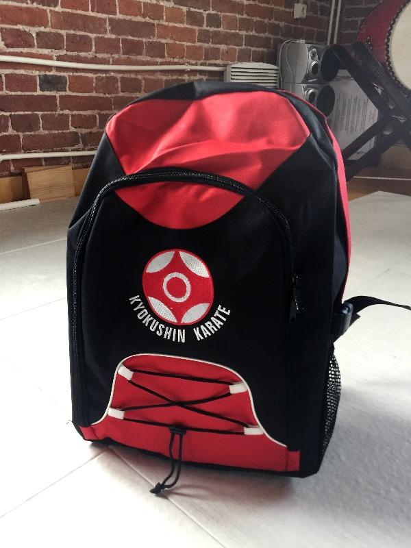 Рюкзак карате киокушинкай молодёжная сумка рюкзак